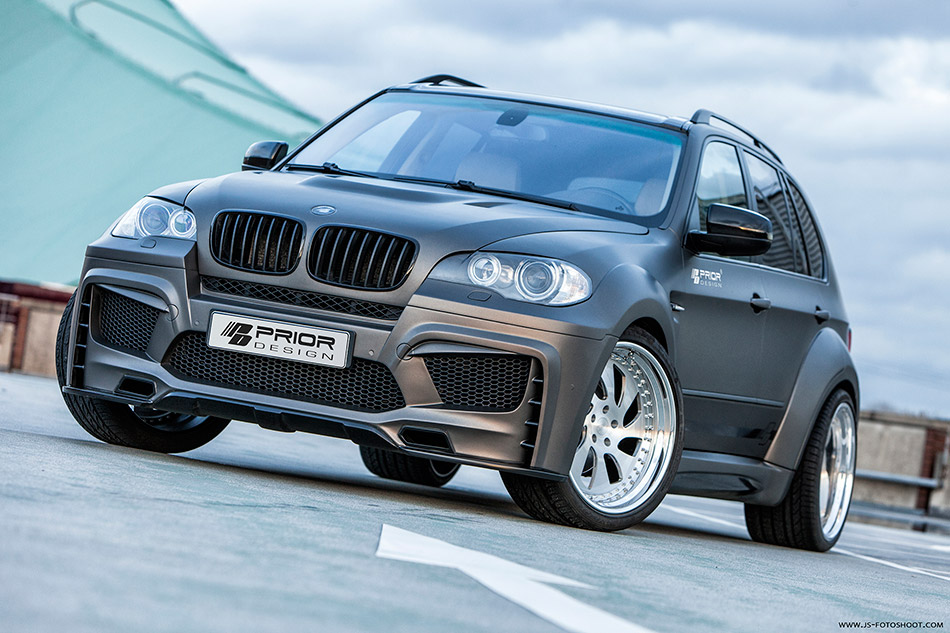 2014 Prior-Design BMW X5 E70 PD5X Front Angle