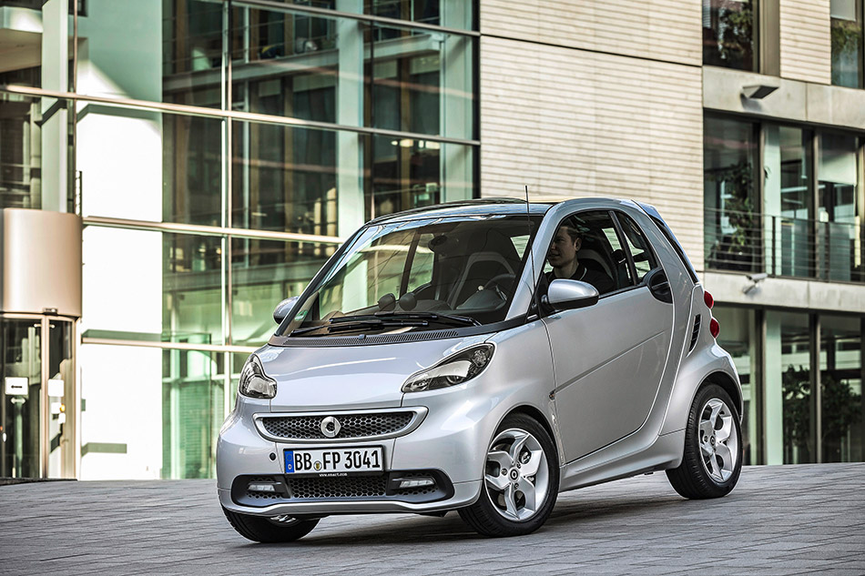 2014 Smart ForTwo Citybeam Edition Front Angle