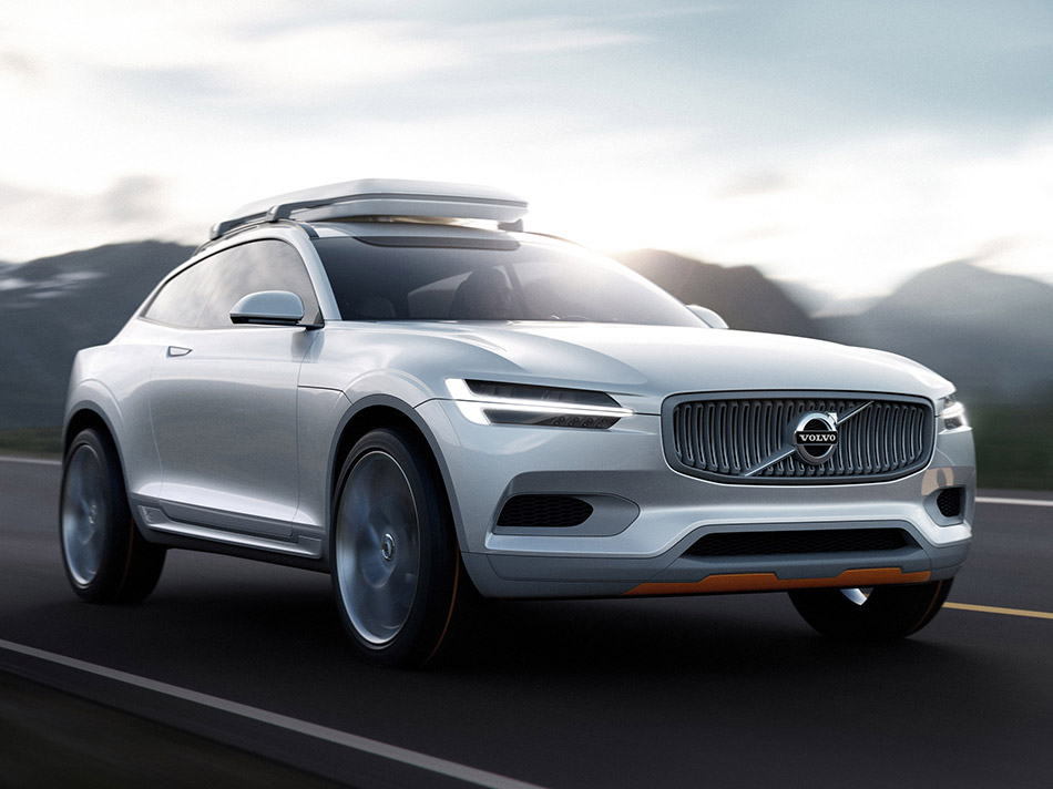 2014 Volvo Concept XC Coupe Front Angle