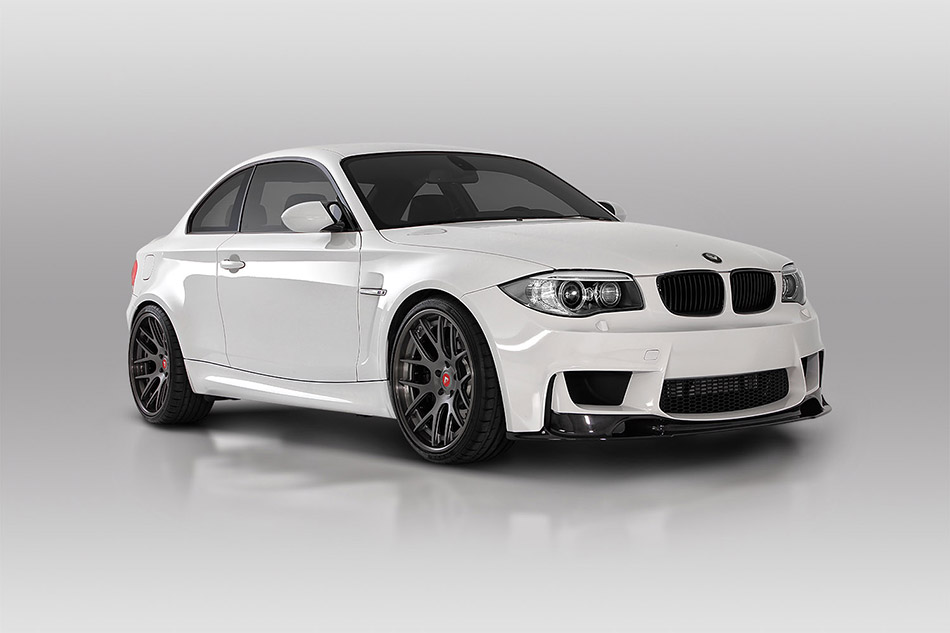 2014 Vorsteiner BMW E82 1M Coupe Front Angle
