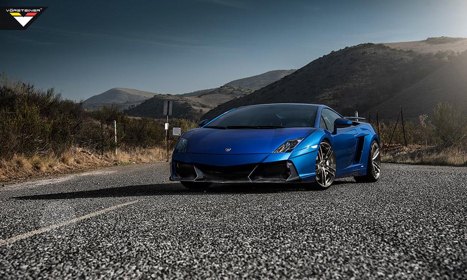 2014 Vorsteiner Lamborghini Gallardo LP-550-60 Renazzo Front Angle