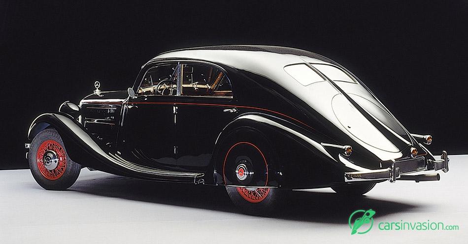1937 Mercedes-Benz 320 Rear Angle