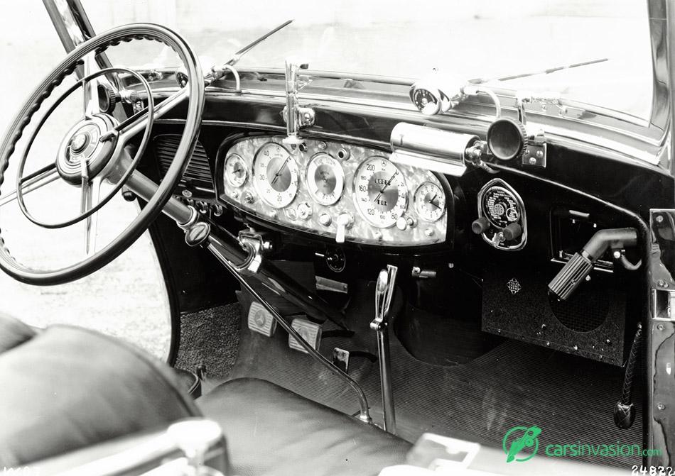 1930 Mercedes-Benz 770 Grand Mercedes Interior