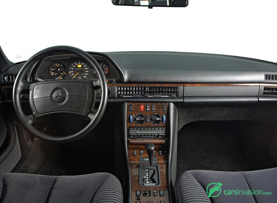 1979 Mercedes-Benz S-Class W126 Interior