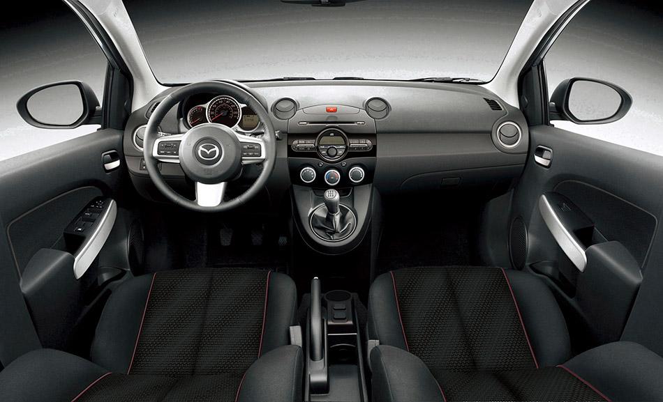 2011 Mazda 2 Interior