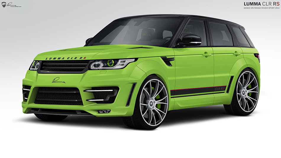 2013 LUMMA Range Rover Sport CLR RS Front Angle