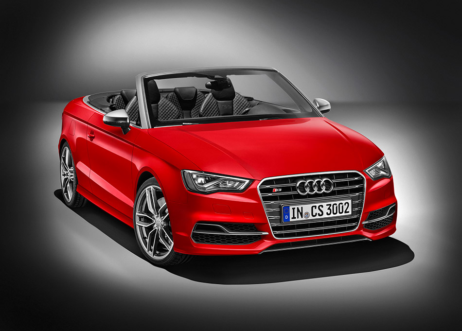 2015 Audi S3 Cabriolet Front Angle