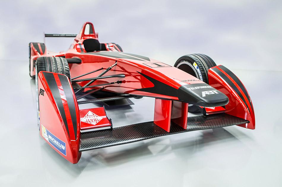 2014 ABT Fia Formula-E Front Angle