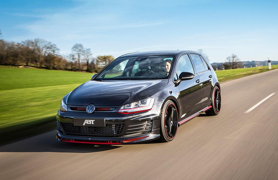 2014 ABT Volkswagen Golf VII GTI Dark Edition Front Angle