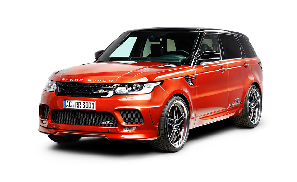 2014 AC Schnitzer Range Rover Sport Front Angle