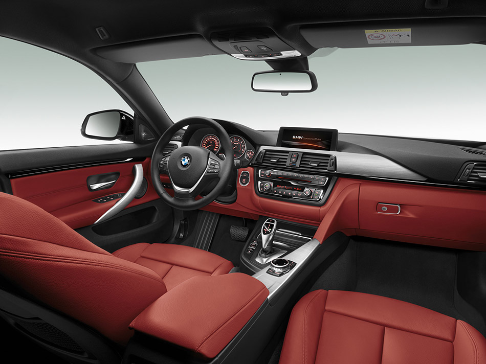 2015 BMW 4-Series Gran Coupe Interior