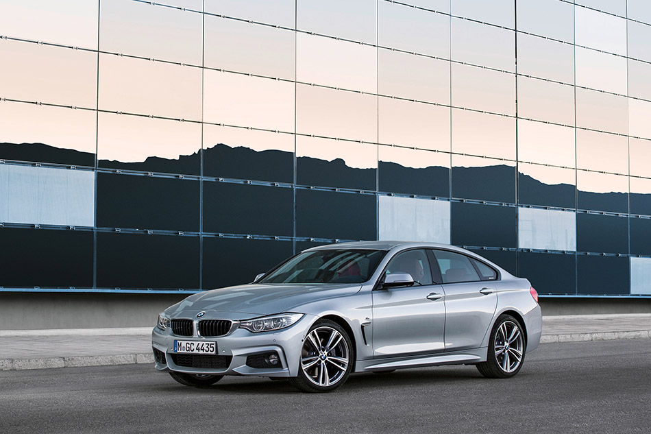 2015 BMW 4Series Gran Coupe Front Angle