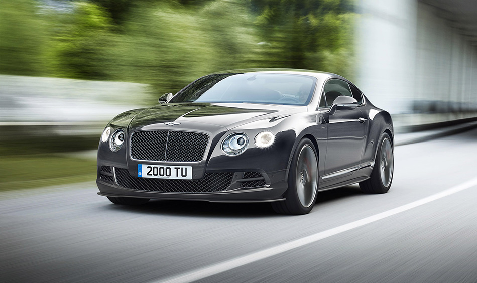 2015 Bentley Continental GT Speed Front Angle