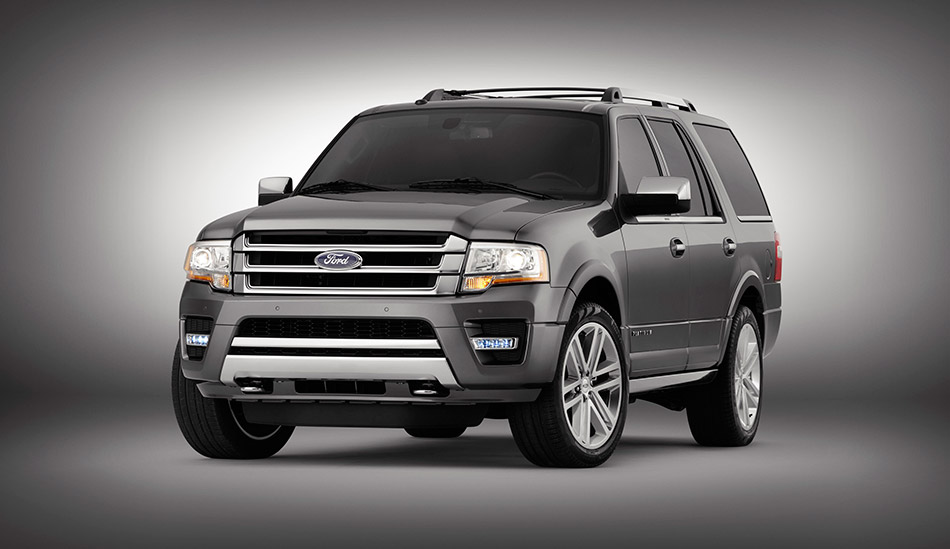 2015 Ford Expedition Front Angle