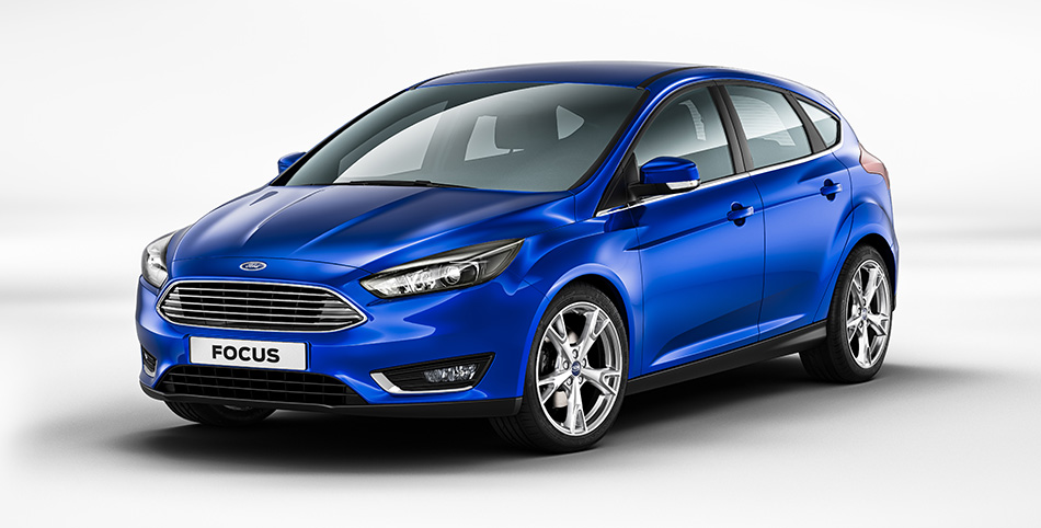2015 Ford Focus Front Angle