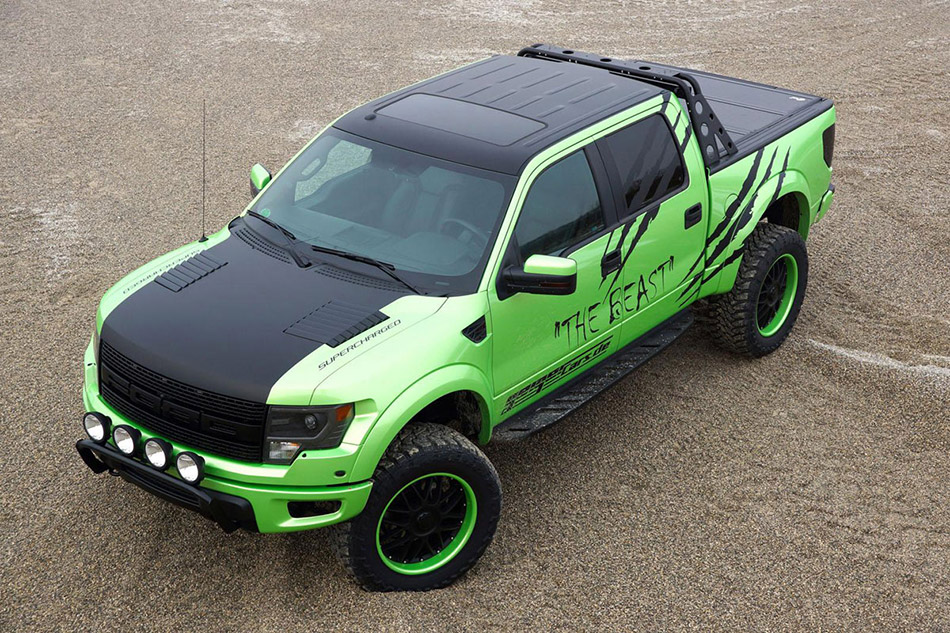 2014 GeigerCars Ford F-150 SVT Raptor Super Crew Cab Beast Edition