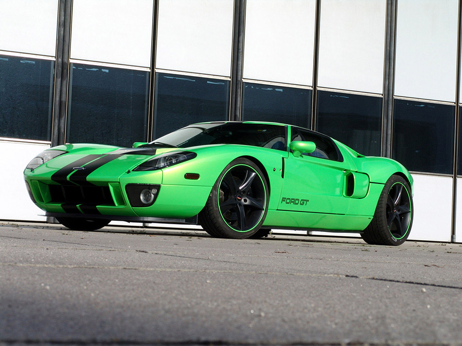 2010 GeigerCars Ford GT Geiger HP790