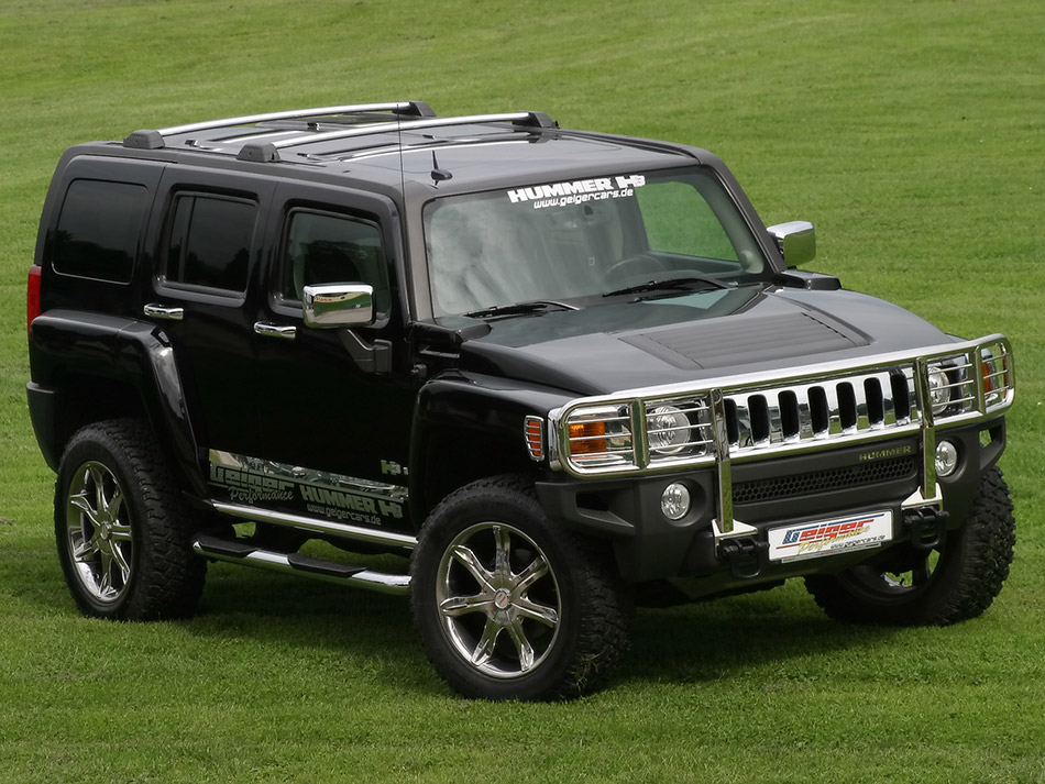 2005 GeigerCars Hummer H3 Tuning