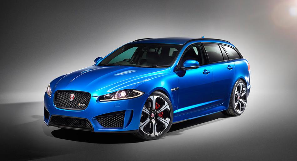 2015 Jaguar XFR-S Sportbrake Front Angle