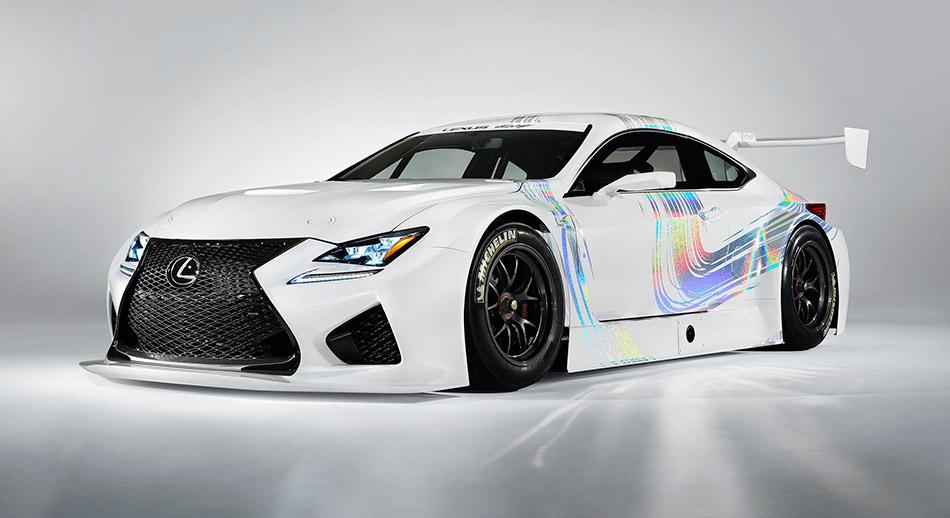 2015 Lexus Rc F Gt3 Concept Hd Pictures Carsinvasion