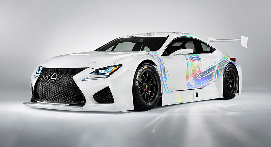 2015 Lexus RC F GT3 Concept Front Angle