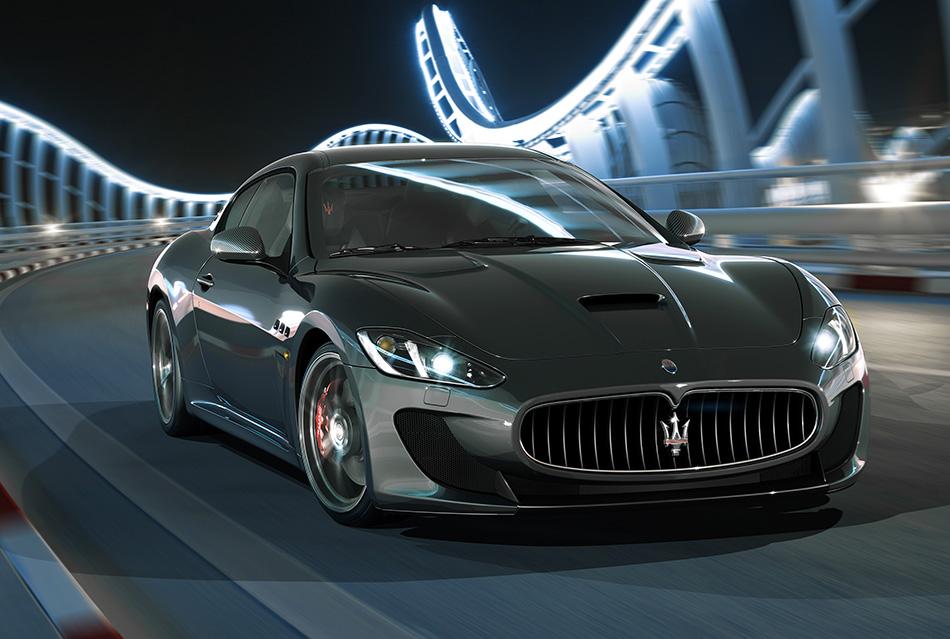 2014 Maserati GranTurismo MC Stradale Front Angle