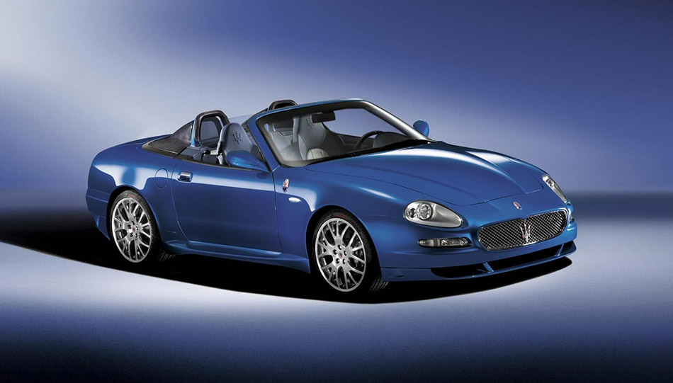 2004 Maserati Spyder 90th Anniversary Front Angle