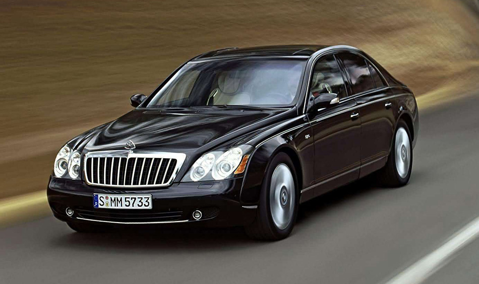 2005 Maybach 57S Special Front Angle