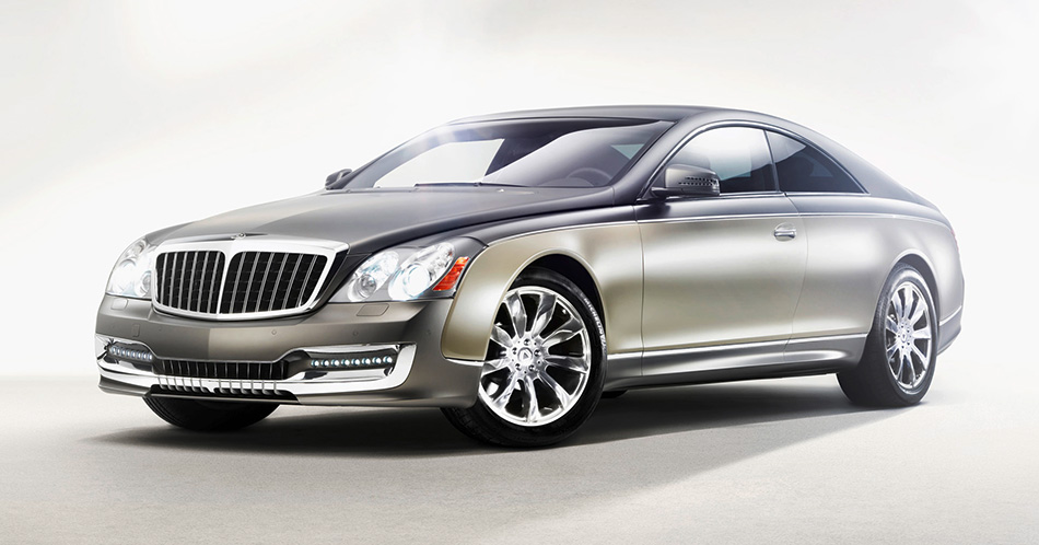 2010 Maybach Xenatec Coupe Front Angle