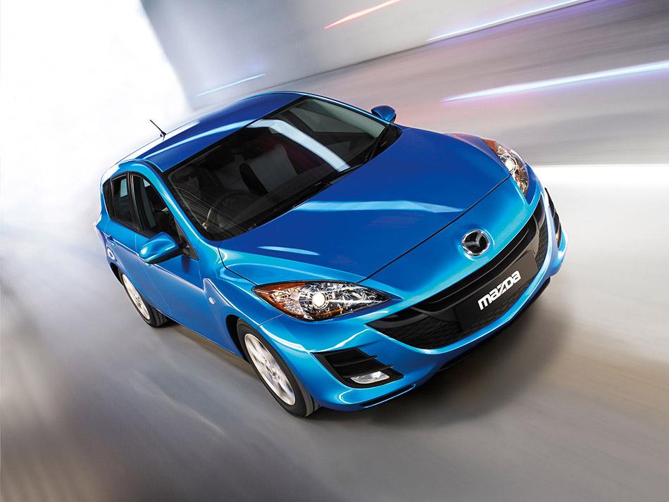 2010 Mazda 3 Front Angle