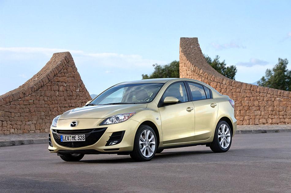 2010 Mazda 3 Sedan Front Angle