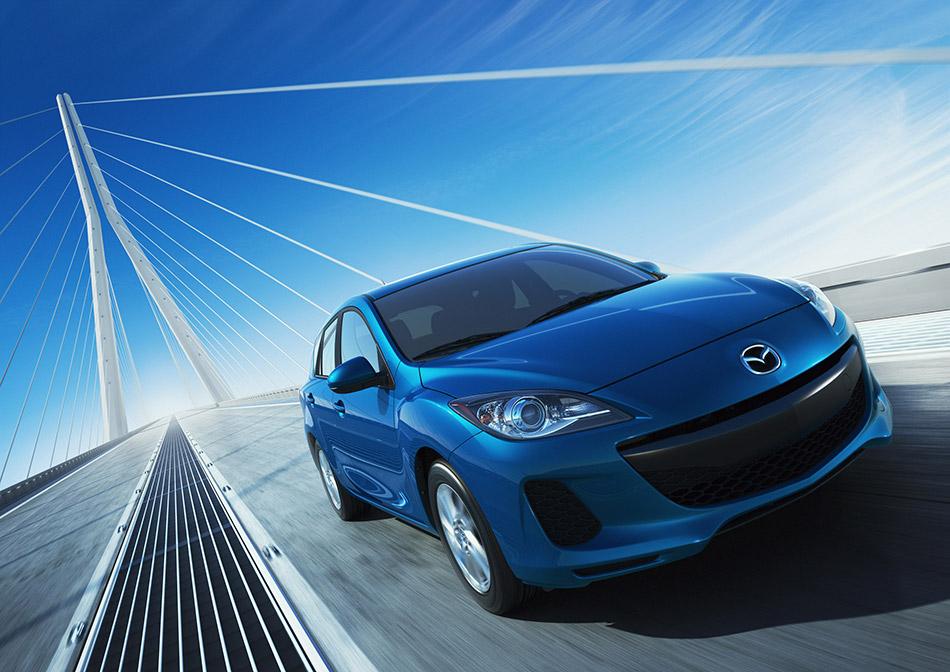 2012 Mazda 3 Sedan Front Angle