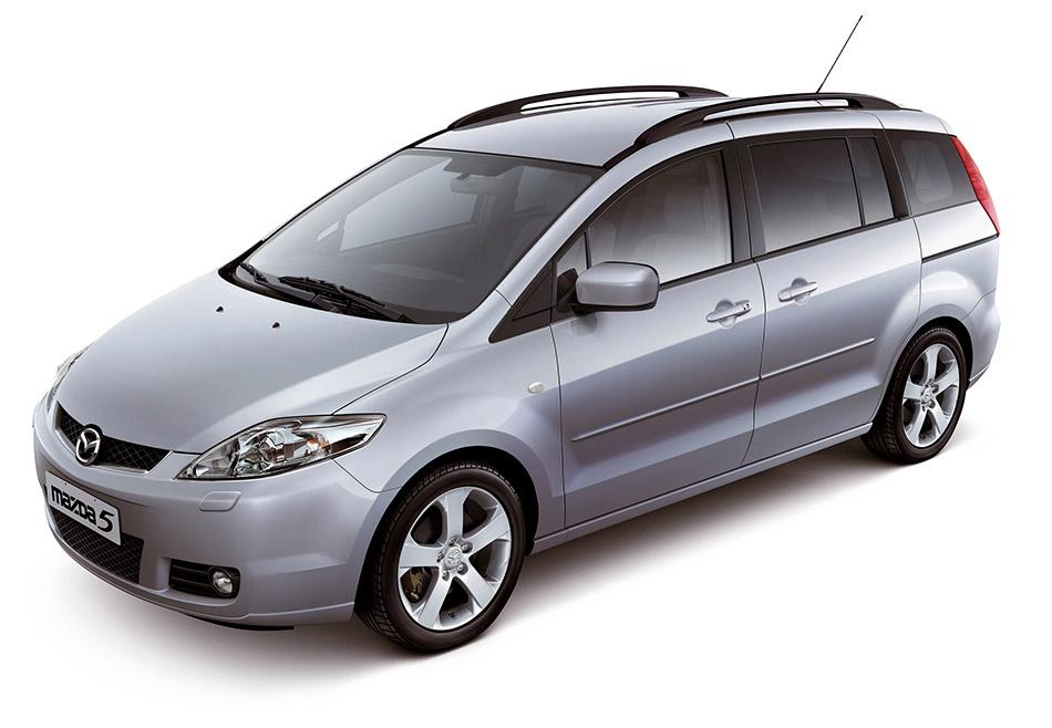 2004 Mazda 5 Front Angle