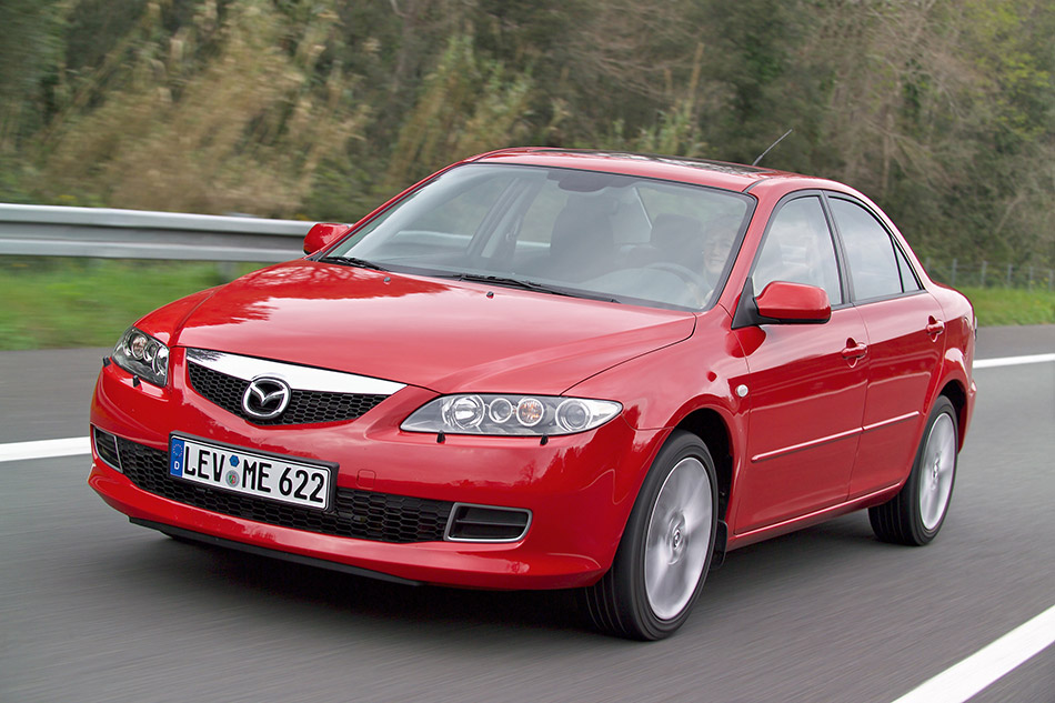 2005 Mazda 6 Facelift Front Angle