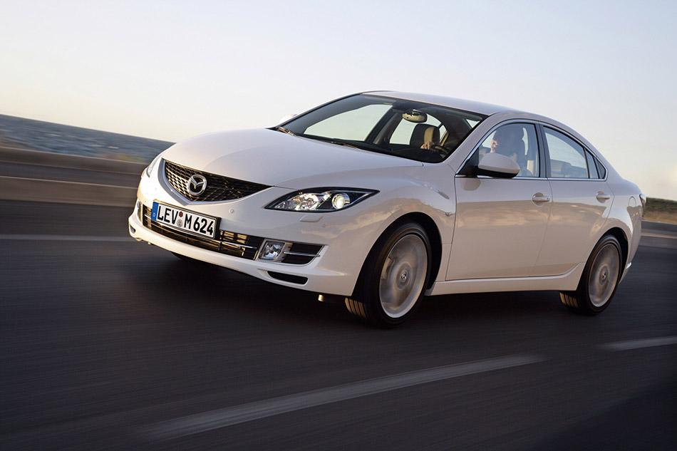 2008 Mazda 6 Sedan Front Angle