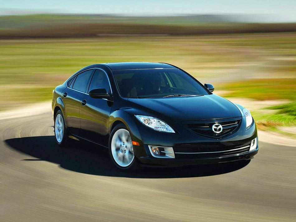 2009 Mazda 6 US-version Front Angle
