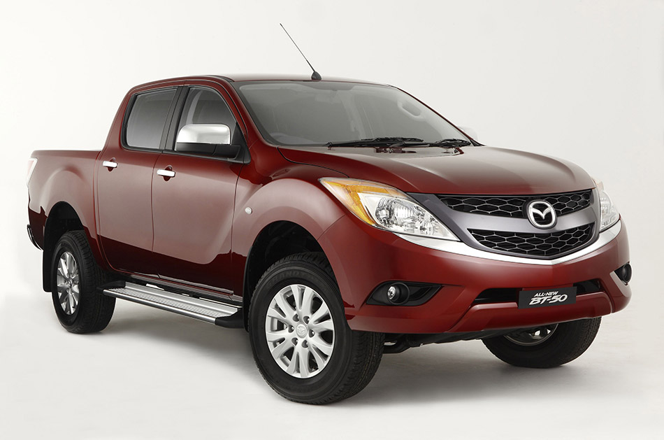 2012 Mazda BT-50 Front Angle