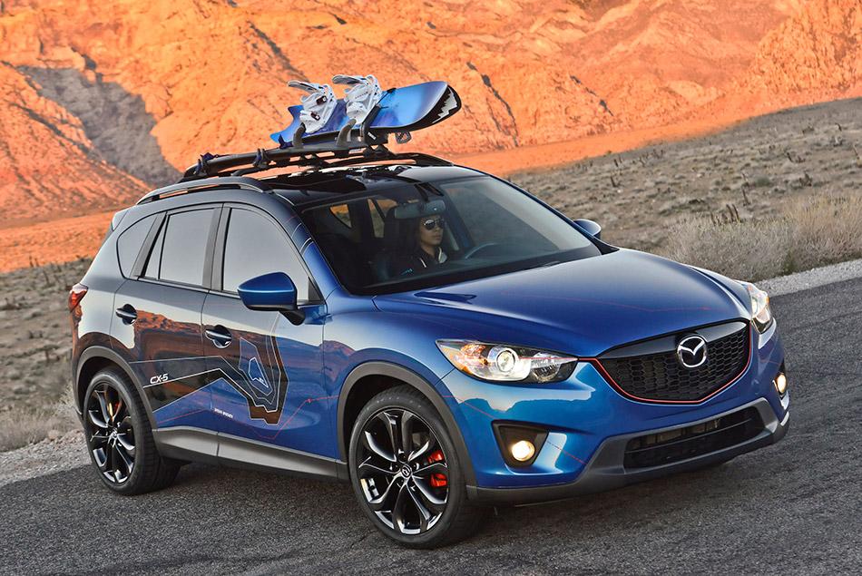 2012 Mazda CX-5 180 Concept Front Angle