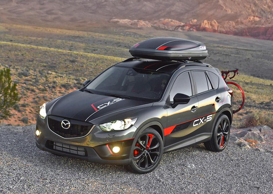 2012 Mazda CX-5 Dempsey Concept Front Angle
