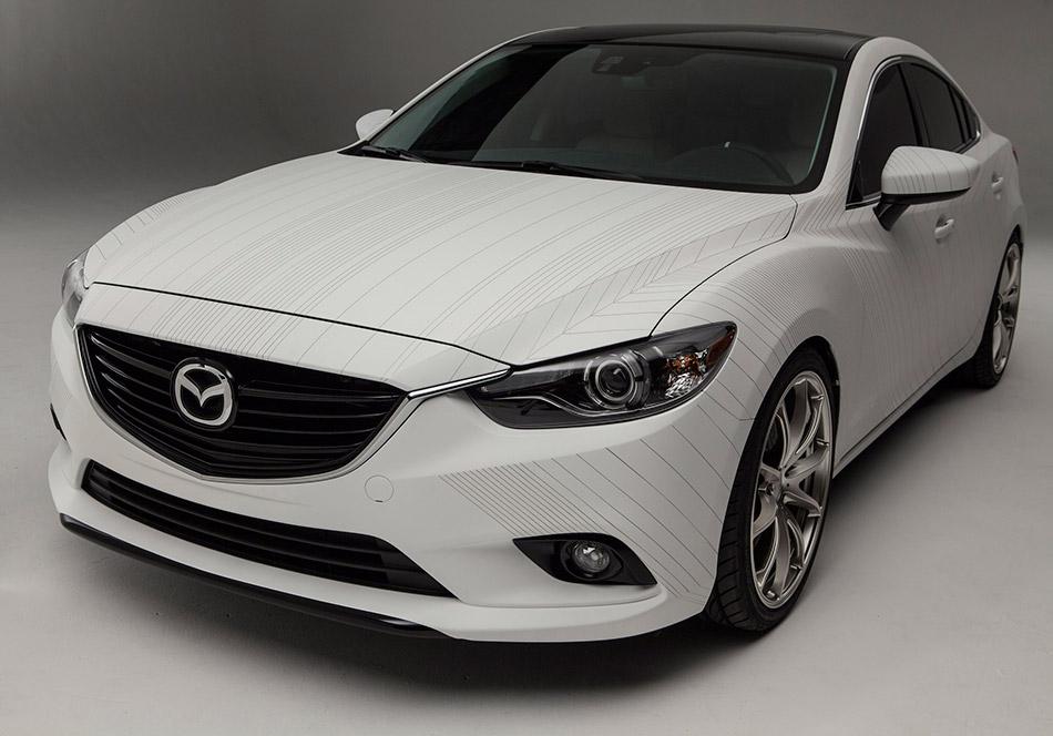 2013 Mazda Ceramic 6 Concept Front Angle