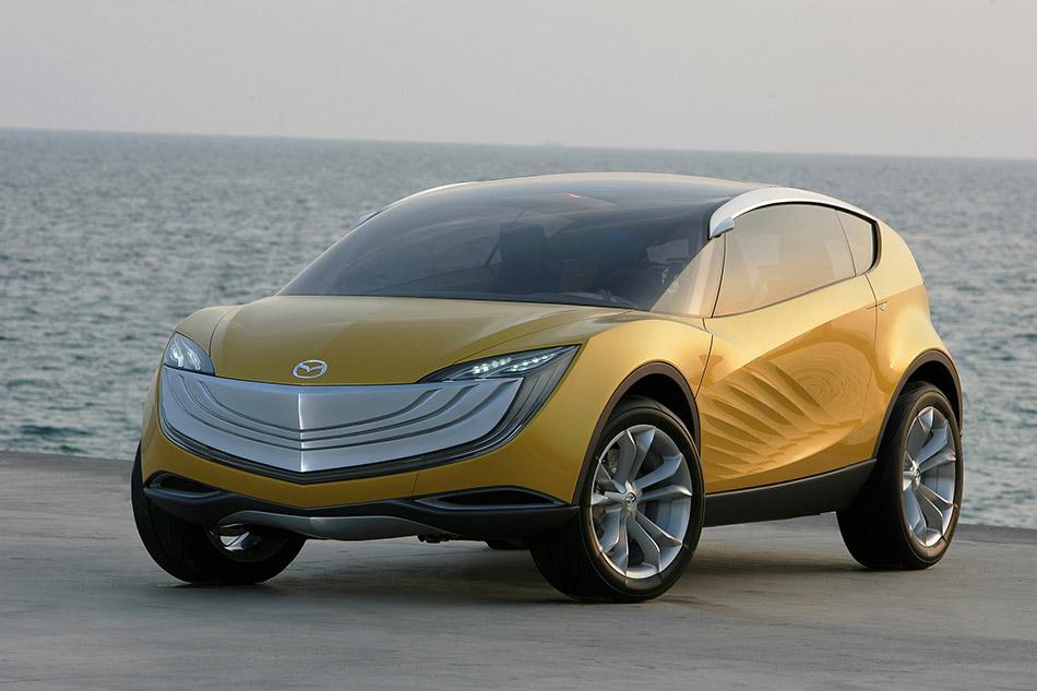 2007 Mazda Hakaze Concept Front Angle
