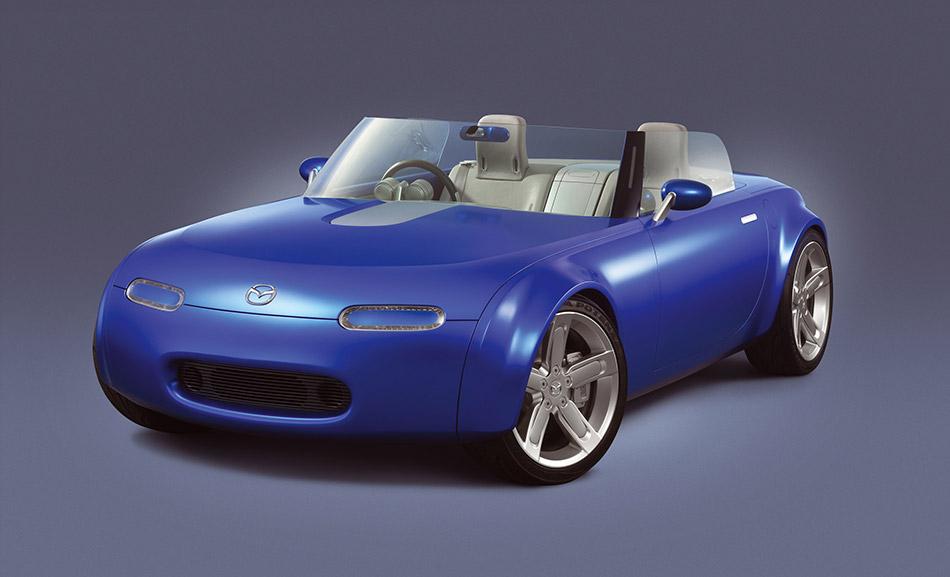 2003 Mazda Ibuki Concept Front Angle