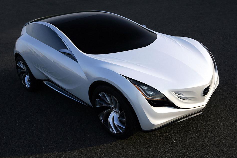 2008 Mazda Kazamai Concept Front Angle