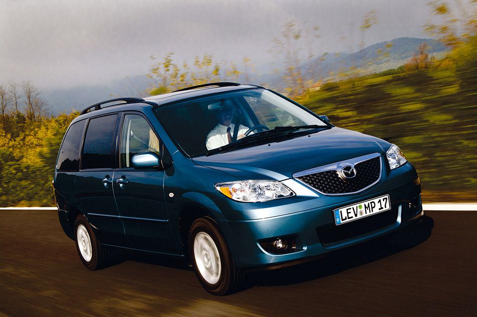 2004 Mazda MPV Facelift Front Angle