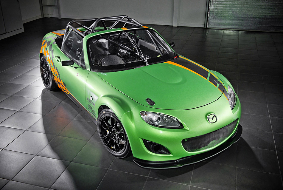 2011 Mazda MX-5 GT Race Car Front Angle