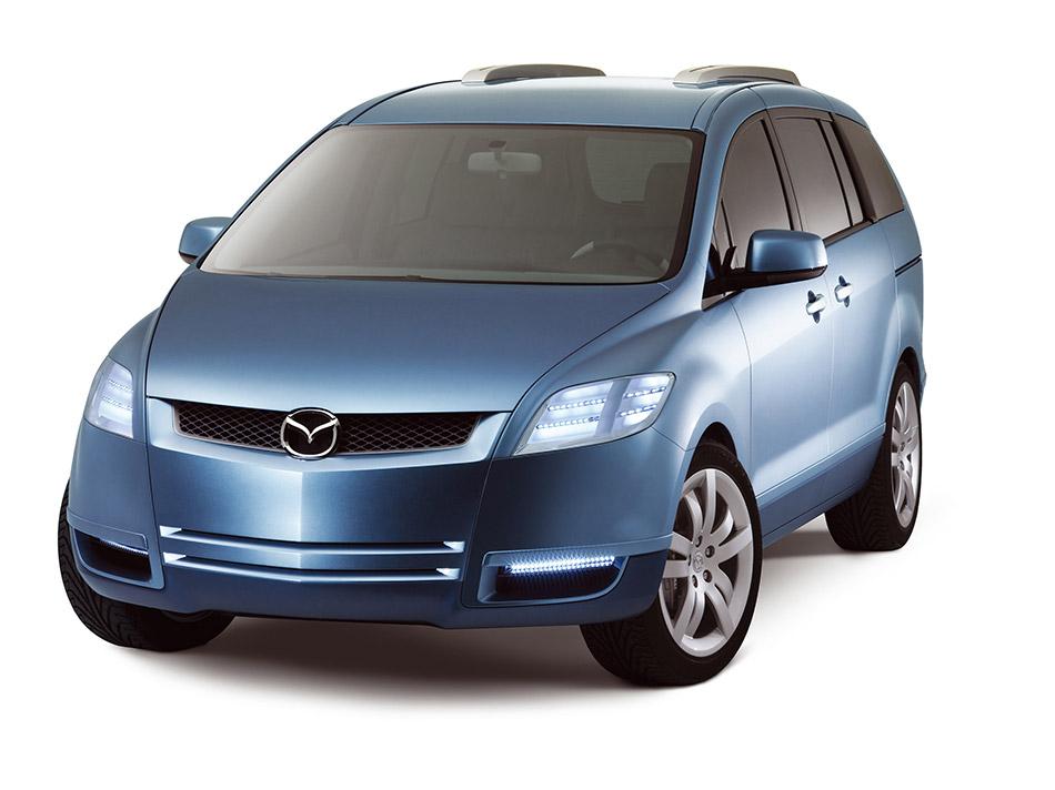 2004 Mazda MXFlexa Concept Front Angle