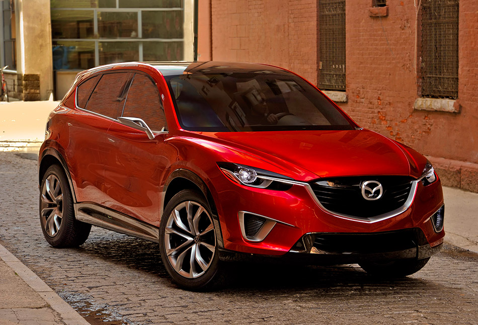2011 Mazda Minagi Concept Front Angle