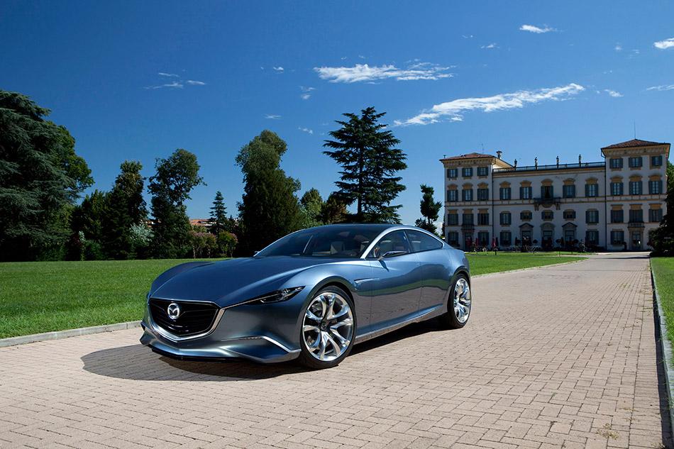 2010 Mazda Shinari Concept Front Angle