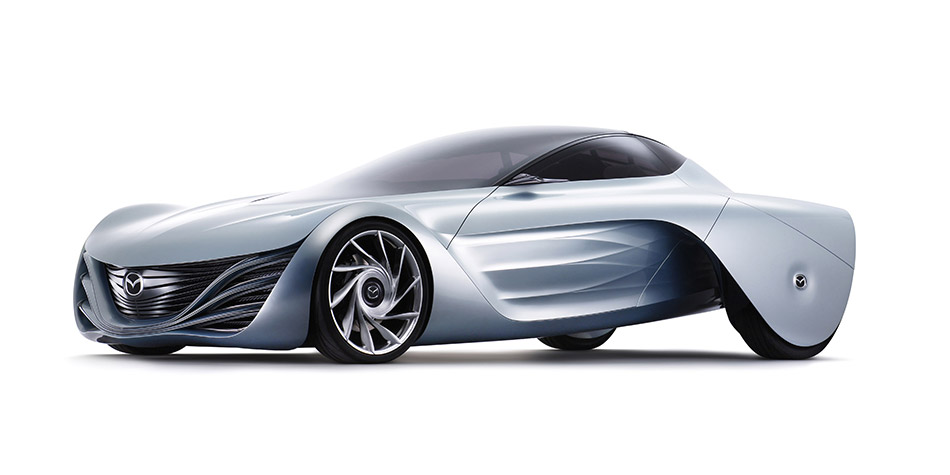 2007 Mazda Taiki Concept Front Angle