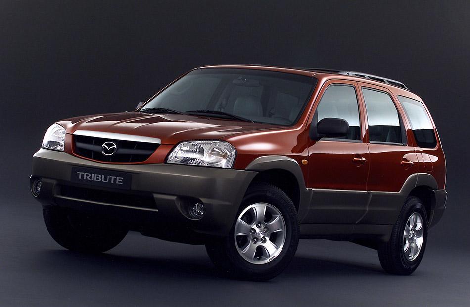 2003 Mazda Tribute Front Angle